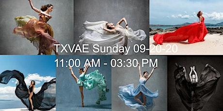 TXVAE Flowing Dress Shoot tickets