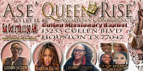 "ASE"" Queen Rise Women's Conference tickets"
