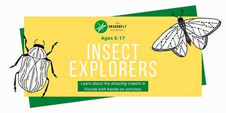 Insect Explorers - Bug Class for Kids 5-17 tickets
