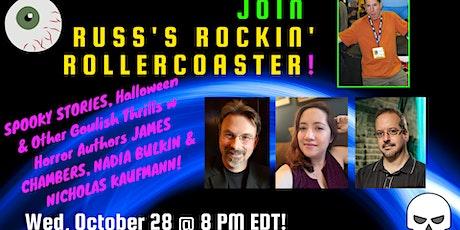 Spooky Stories with James Chambers, Nicholas Kaufmann and Nadia Bulkin tickets