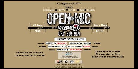 PoetryAndChill Open Mic Nights OKC Edition tickets