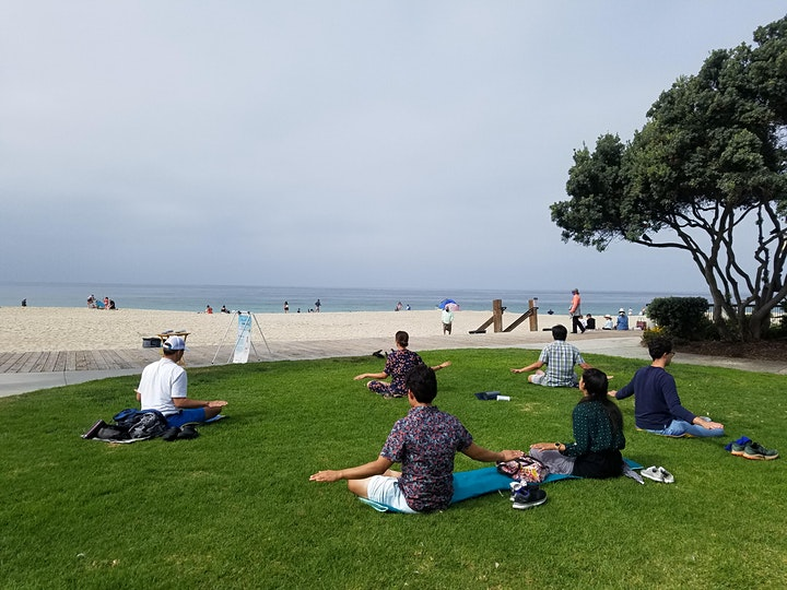 Meditation at Laguna Beach_ Enjoy the Inner Refreshment image