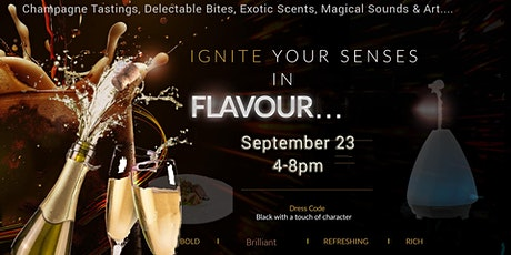 Ignite Your Senses presents- An Effervescent Evening of Bubbles & Bites tickets