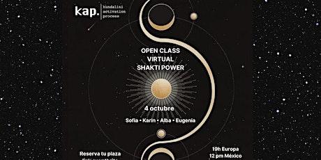 KAP LATINOAMERICA Virtual Open Class - Shakti Power entradas