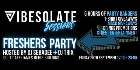Vibesolate Sessions - Freshers Party tickets