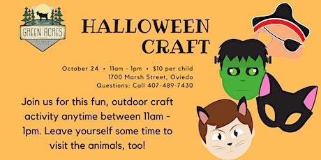 Halloween Craft at Green Acres Farm Oviedo tickets