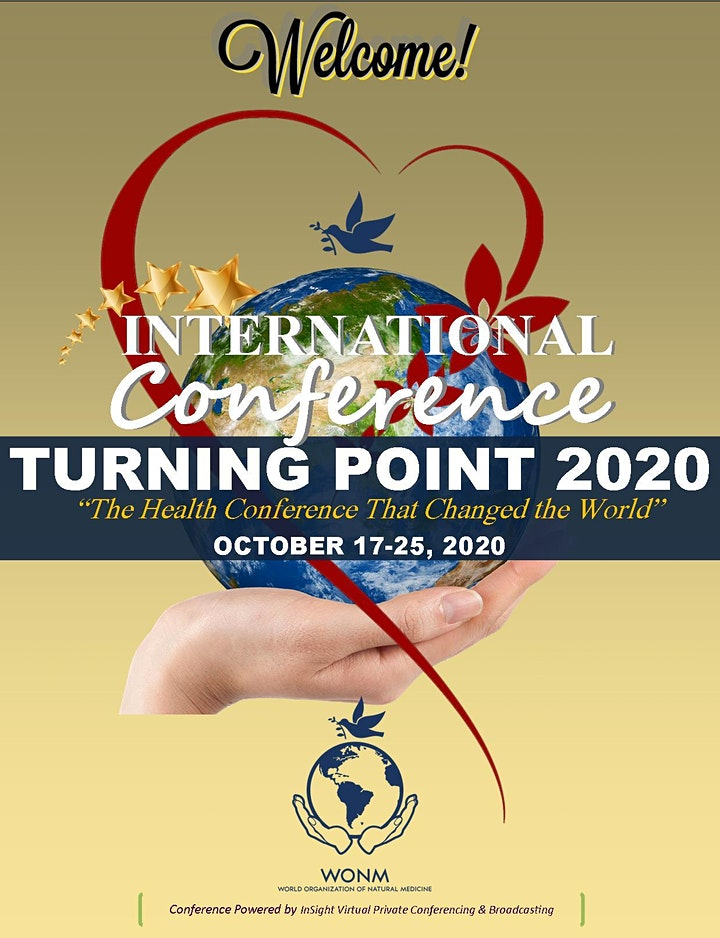 Turning Point 2020 - The Health Conference That Changed the World! image