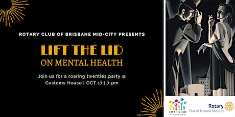 Lift The Lid Gala 2020  - raising funds for mental health research tickets