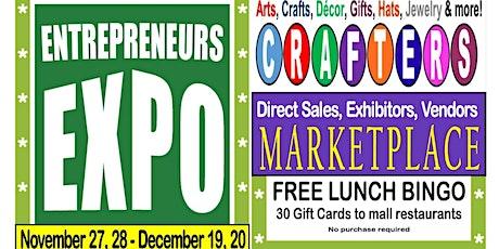 Crafters, Direct Sales, Exhibitors, Vendors - Tel Twelve, Dec 5-6 tickets