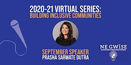NE GWiSE Virtual Series Keynote with Prasha Sarwate Dutra tickets