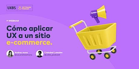 Cómo aplicar UX a un sitio e-commerce entradas