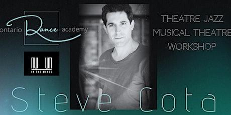 Stephen Cota: Theatre Jazz and Musical Theatre Workshop tickets