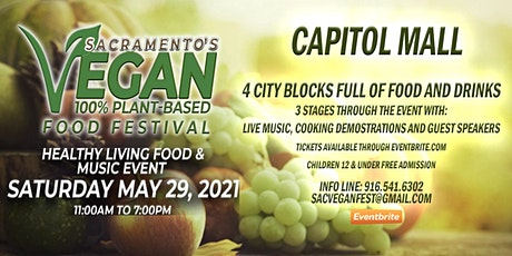 Sacramento's Spring Vegan Food Festival tickets
