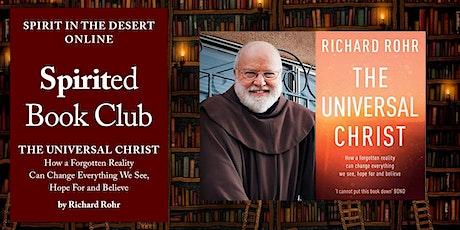 Live via Zoom: Spirited Book Club ~ The Universal Christ by Richard Rohr tickets