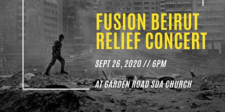 Fusion Beirut Relief Concert tickets