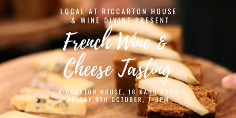 French Wine Tasting  with Wine Divine & the Canterbury Cheesemonger tickets