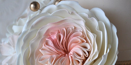 Learn To Make Beautiful Sugar Garden Rose at Fran's Cake and Candy Supplies tickets
