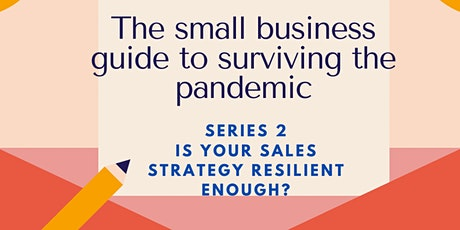 Is your sales strategy delivering results? tickets