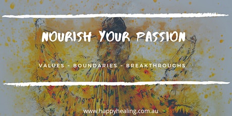 NOURISH YOUR PASSION tickets