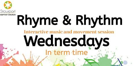 Rhyme & Rhythm session 1 tickets
