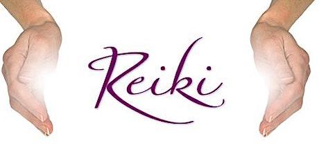 Reiki I and II (Free Reiki I) tickets