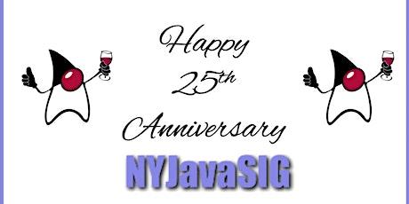 NYJavaSIG 25th Anniversary Epic Event! tickets