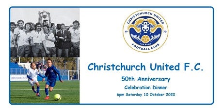 CUFC 50th Anniversary Celebration Evening tickets