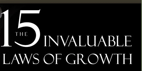 Virtual Mastermind Group - The 15 Invaluable Laws of Growth tickets