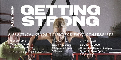 Getting Strong: A Practical Guide to S&C for Physiotherapists tickets