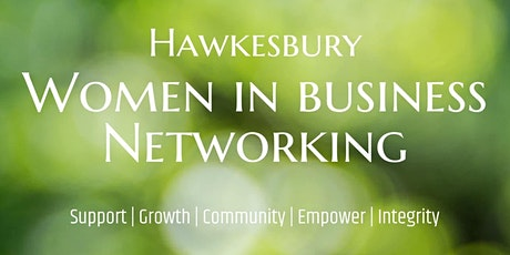 Hawkesbury Women in Business Networking event OCT ONLINE AM tickets