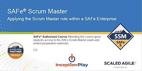 SAFe Scrum Master  (SSM) - Curso Online entradas