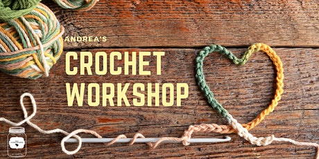 Learn how to crochet with Andrea tickets