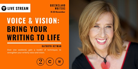 LIVE STREAM: Voice & Vision: Bring Your Writing to Life tickets