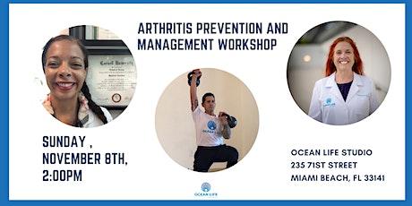 Arthritis Prevention and Management Workshop tickets
