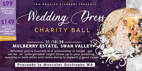Wedding Dress Charity Ball 2020 tickets