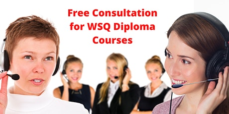 Free Consultation for WSQ Diploma Courses for Adults age 40-60 tickets
