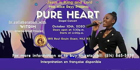 Pure Heart Gospel Concert tickets