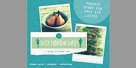 Sassy Suburban Soiree - Cook to Impress tickets