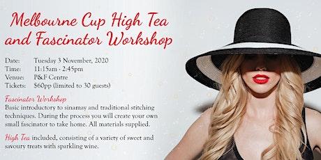 2020 Melbourne Cup High Tea & Fascinator Workshop tickets