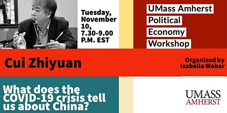 Cui Zhiyuan: What does the COVID-19 crisis tell us about China? tickets
