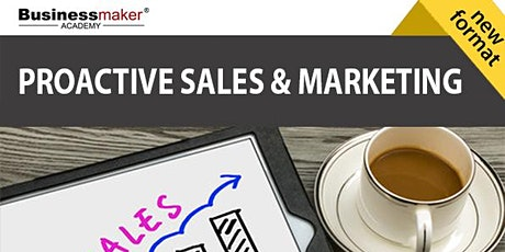 Proactive Marketing and Sales tickets
