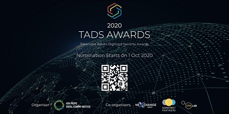 TADS AWARDS GALA 2020 - online award presentation ceremony for TADS Awards tickets