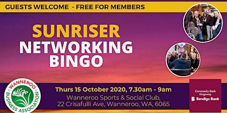 Networking Bingo Sunriser tickets