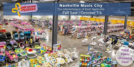 (FREE) PUBLIC SALE | OCT 1-4 | JBF Nashville Fall 2020 tickets