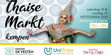 Thaise Markt Kempen 2020 tickets