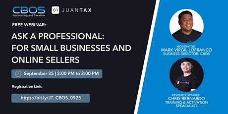 Ask a Professional: For Small Businesses and Online Sellers tickets