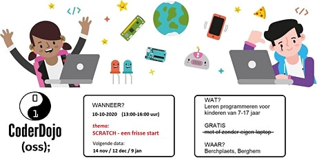 CoderDojo Oss editie #49 tickets