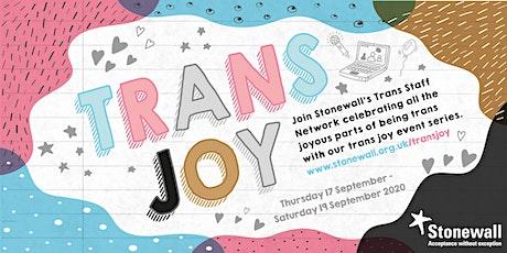 Trans Joy: Zine Making tickets