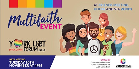 Being LGBTQ+ and a Person of Faith tickets