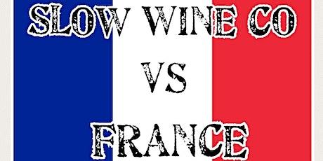 Slow Wine Co vs France no. 2 -  Saturday night tickets